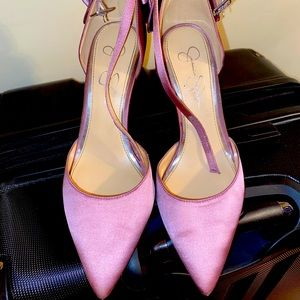 Jessica Simpson high-heels with Bow